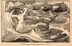 Fairy tales of Hans Andersen (1908)  Illustrations by Helen Stratton