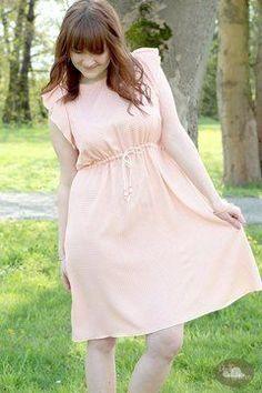 Ebook♥CLYDE♥Kleid mit Tunnelzug♥Gr. 32-46♥ - Schnittmuster und Nähanleitungen bei Makerist