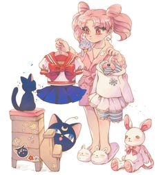 Sailor Moon / Chibi Usa