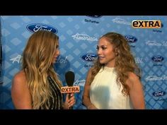 J.Lo and Casper Talk to 'Extra' About Their Sexy 'Idol' Dance