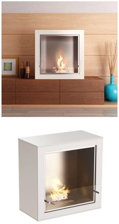 If you are thinking of putting a fireplace in your home, consider this portable fireplace fueled by bio-ethanol - environmentally friendly, renewable energy. Ethanol Fireplace, Home Fireplace, Portable Fireplace, Interior Architecture, Interior Design, Living Spaces, Living Rooms, Renewable Energy, Apartment Living
