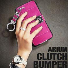 Arium Clutch Bumper Case for Samsung Galaxy Note 3 Hot Pink Color #Samsung