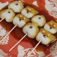 in 2019 Japanese Snacks, Japanese Sweets, Japanese Food, Cute Desserts, Asian Desserts, Dessert Recipes, Desserts Japonais, Cute Food, Yummy Food