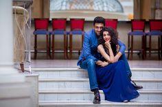 Aashumi and Sagar's Pre Wedding Photoshoot at ITC Grand Maratha, Mumbai for WeddingSutra.  Photography- Knotty Affair