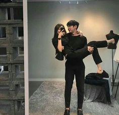 Find images and videos about cute, couple and korean on We Heart It - the app to get lost in what you love. Cute Couples Photos, Cute Couple Pictures, Cute Couples Goals, Couple Photos, Matching Couple Outfits, Matching Couples, Relationship Goals Pictures, Cute Relationships, Couple Goals Cuddling