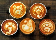 Latte Art by Ona Coffee Manuka barista Caleb Evans.