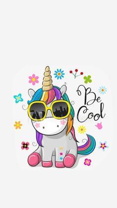 Unicorn Art, Cute Unicorn, Unicornios Wallpaper, Kids Cartoon Characters, Unicorn Pictures, Character Wallpaper, Love Illustration, Lol Dolls, 1st Birthday Girls