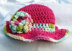 Ravelry: 6-9 Month Sun Hat pattern by Corina Gray
