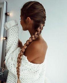 long braid hairstyle
