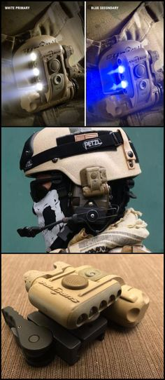 Surefire HL1-A HelmetLight - Multiple-Output Helmet LED Light