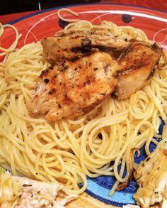 College Girl, College Food: George Foreman Lemon Garlic Chicken