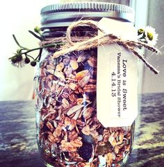 What if we did homemade granola for favor since it is a brunch?