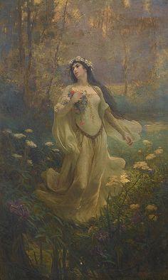 """Joseph Kirkpatrick (1872-1930), """"Ophelia"""" by sofi01, via Flickr"""