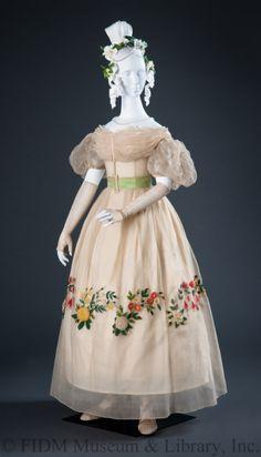 Evening Dress1820sThe FIDM Museum