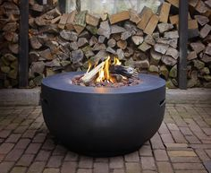 Buy Happy Cocooning Bowl Fire Pit - Black online with Houseology's Price Promise. Full Happy Cocooning collection with UK & International shipping. Fire Pit Bench, Fire Pit Swings, Fire Pit Bowl, Diy Fire Pit, Garden Fire Pit, Fire Pit Backyard, Lava, Fire Pit Australia, Fire Pit Cooking