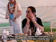 When you get your food first at a restaurant. 24 Pics That Prove Ozzy Osbourne Is The Most Relatable Person To Ever Live Funny Quotes, Life Quotes, Funny Memes, Hilarious, Ozzy Osbourne Quotes, Metal Meme, Band Memes, Foo Fighters, Black Sabbath