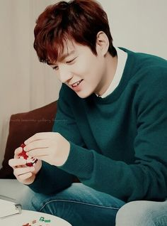 (Part 7) Lee Min Ho for Innisfree Green Christmas 2015.