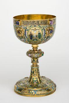 Chalice, Moskow, 1679. Beleef cultuurhistorie: www.desteenakker.nl