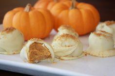Fall Pumpkin Truffles