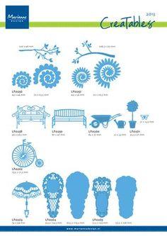Creatables overview 2013 -- Marianne Design