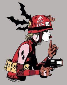 Harley Quinn as Tank girl