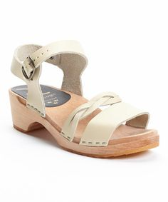 I seriously can't justify yet another pair of clog sandals...but if I could these would SO be the ones!