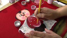 """Aprenda a fazer uma belíssima pintura em tecido, com tema """"Joaninha""""!"""