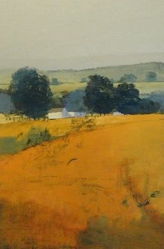 Paul Balmer like the depth in his rolling landscape paintings Abstract Landscape Painting, Landscape Art, Landscape Paintings, House Landscape, Abstract Oil, Watercolor Landscape, Abstract Paintings, Paintings I Love, Indian Paintings