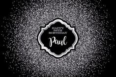 Only 15 USD - custom Black And Silver Sequins Bokeh Adults birthday photo personalized backdrop party backgrounds Happy 50th Birthday, Husband Birthday, Mom Birthday Gift, Baby Shower Background, Party Background, Birthday Decorations For Men, Balloon Decorations Party, Bokeh, Birthday Surprises For Him