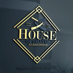 Create an elegant logo design for upscale barbershop by ANTONIOS_99