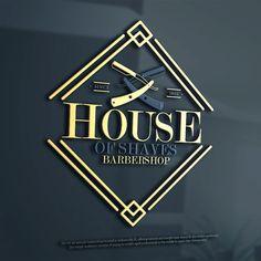 Create an elegant logo design for upscale barbershop by ANTONIOS_99