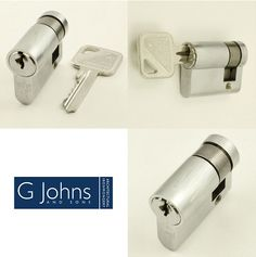 Eurospec's 5 Pin - Euro Profile Single Cylinders - Satin Chrome