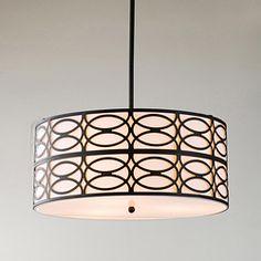 replace dining light    Indoor 3-light Black Pendant Chandelier $139.99