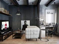 Fabulous Modern interior apartment design.... | Visit : roohome.com  #apartment #design #decoration #beautiful #gorgeous #fabulous #uniquedesign #interior #creativedesign #amazing #awesome