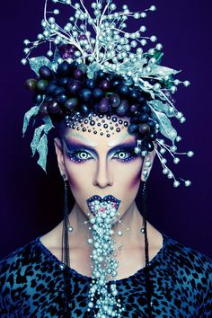 When Makeup Meets Art: Ryan Burke | http://www.beautylish.com/a/vxsvs/makeup-artist-ryan-burke  NYX