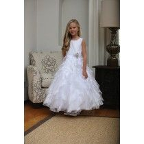 First Communion Dresses for Sale Season 2018 Girls First Communion Dresses, Holy Communion Dresses, First Holy Communion, Size 14 Dresses, Dresses For Sale, Our Girl, Lace Trim, Ruffles, Size 12