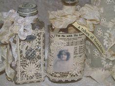 Wayside Treasures: More altered bottle fun