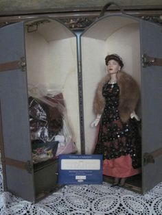 Titanic Gene Doll with Travel Trunk and Accessories on Etsy, $382.51 AUD