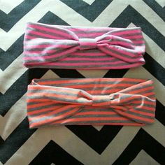 Pink n orange headbands Made of super soft cotton stretch  20% OFF all bundles of two or more! ⬇⬇Use The Bundle Feature⬇⬇ TRADES PAYPAL  All Offers Considered. Like the item but not the price ?  Make An Offer***i dont bite  Accessories Hair Accessories