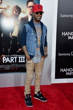 Kid Cudi wearing Air Jordan IV