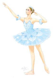 Ballerina Illustration, Ballet Beautiful, Ballet Costumes, Art Drawings Sketches, Cool Artwork, Dance Wear, Art Girl, Poses, Ballet Dance