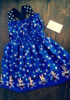 Girl's Minnie Print Sundress Children's Sleeveless by SESstyles
