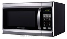 Emerson MW 1338SB, 1.3 CU. FT. 1000 Watt, Touch Control, Stainless Steel Front, Black Cabinent Microwave Oven  Check It Out Now     $117.69    1000 watts and 1.1 cubic feet of cooking space Black finish front with chrome handles and stainless cabinet 10 power ..  http://www.appliancesforhome.top/2017/05/05/emerson-mw-1338sb-1-3-cu-ft-1000-watt-touch-control-stainless-steel-front-black-cabinent-microwave-oven/