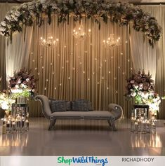 Wedding backdrops magical mandaps amazing arches shopwildthings com toronto wedding planner on simple elegant classy is the best way to describe this head table set up by floretflorals for natalie vartevars wedding in april at Table Decoration Wedding, Engagement Stage Decoration, Reception Stage Decor, Decoration Buffet, Wedding Backdrop Design, Desi Wedding Decor, Wedding Stage Design, Wedding Reception Backdrop, Wedding Mandap
