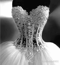 ... Luxury Wedding Dresses 2015 With Lace Pearl Beads Unique Arabic Bridal Gowns Sweetheart Neck Zip Back ...