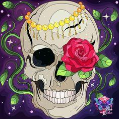 Coloring Apps, Fictional Characters, Skulls, Colour, Santa Muerte, Art, Color, Fantasy Characters, Skeletons