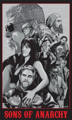 Sons of Anarchy by denisosulli