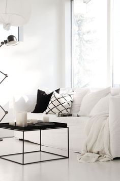 30 Black And White Decor Ideas For A Super Chic Space | 100 Home Decor Ideas