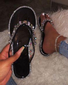 Shop Official Bee: The Latest Shoe Trends – shopofficialbee Cute Sandals, Cute Shoes, Black Sandals, Me Too Shoes, Shoes Sandals, Flats, Cute Slippers, Fresh Shoes, Latest Shoe Trends