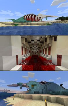 Building Games 864339353472219643 - I should work on my Master's thesis but I (re)discovered Minecraft after 6 years and built a dead whale. : Minecraft Source by malougarouwin Plans Minecraft, Minecraft Building Guide, Minecraft Castle, Minecraft Survival, Minecraft Tutorial, Minecraft Blueprints, Ideas For Minecraft, Building Ideas, Minecraft Statues